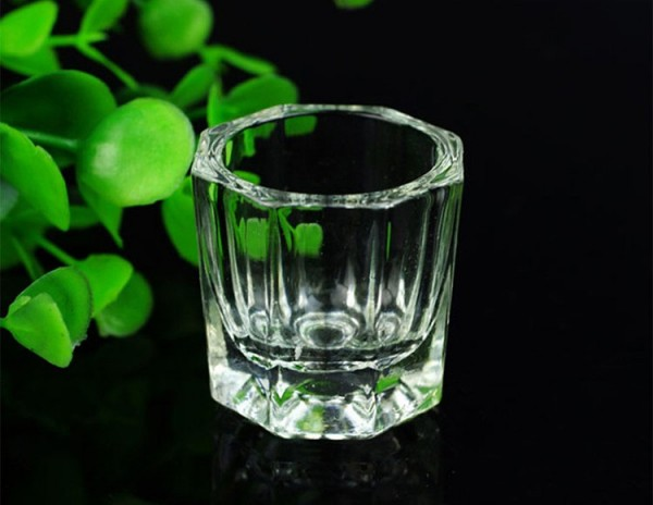 Pahar din sticla pentru henna