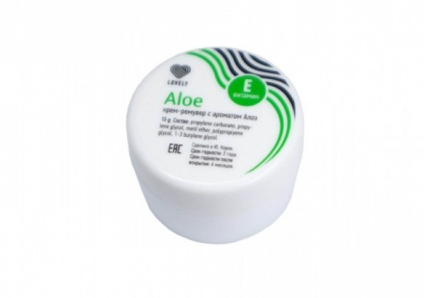 Remover Cream Lovely Aloe