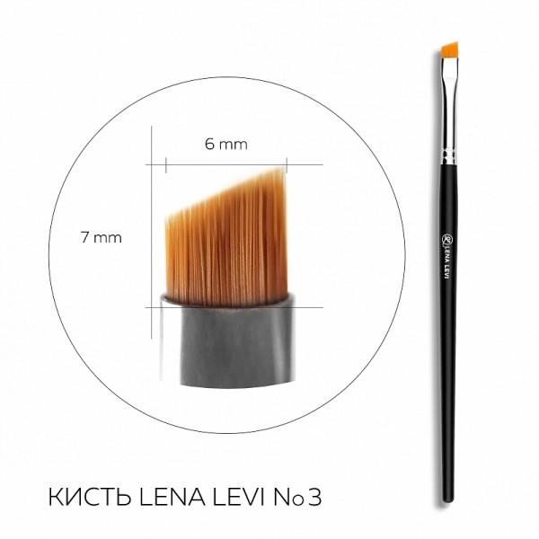 Pensula pentru sprâncene Lena Levi N3