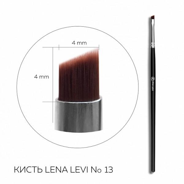Pensula pentru sprincene ulta-precisa Lena Levi N13