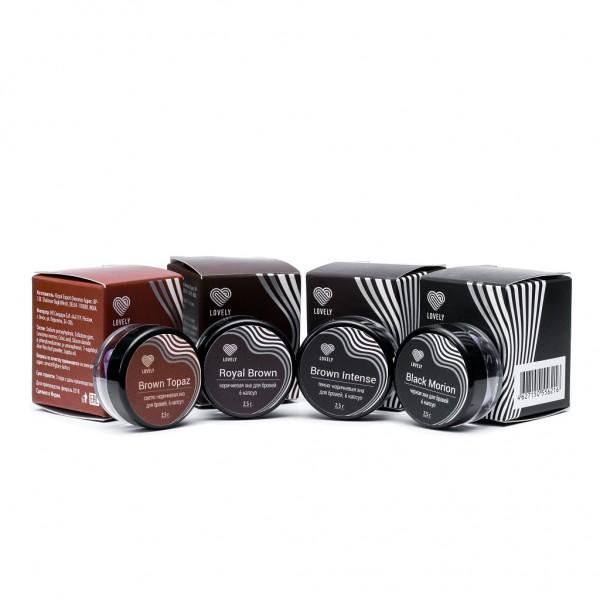 Henna Lovely 6 capsule Black Morion