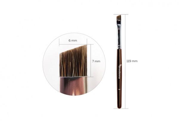 Pensula pentru sprincene BrowXenna N3