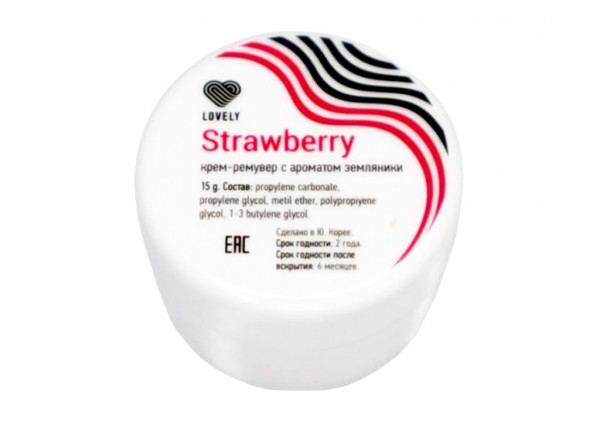 Remover Cream Lovely Strawberry