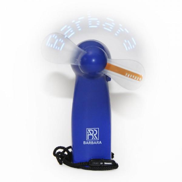 Ventilator Barbara led albastru