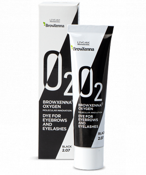 Vopsea BrowXenna Oxygen Black 15ml
