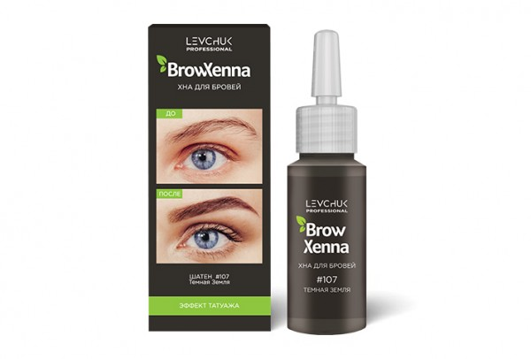 Tub BrowXenna Saten 107