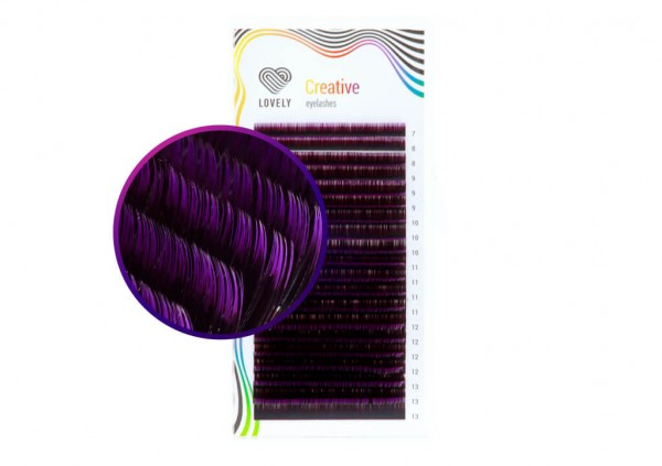 Lovely two-tone mix Black-Violet